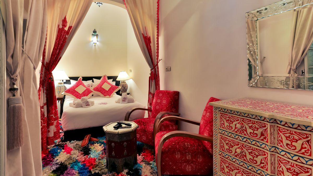Chambre Double ou Lits Jumeaux Supérieure - Riad Ramz - Chambres d ...